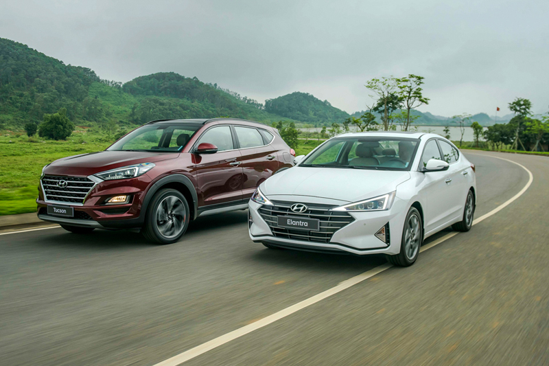 Hyundai Tucson - Elantra 2019 - 4
