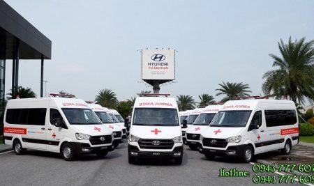 Hyundai TC Motor trao tặng thêm 10 xe Solati Cứu Thương